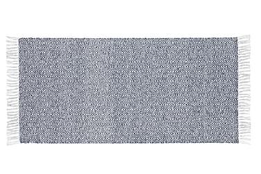 Goose tæppe mix 70x350 PVC / bomuld / polyester blå