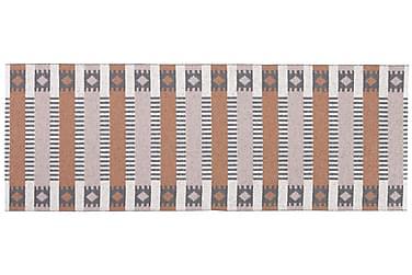 Märta Plastikmåtte 70x250 Vendbar PVC Rost/Lyserød