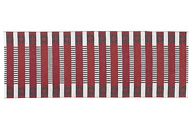 Märta Plastiktæppe 150x250 Vendbar PVC Rød