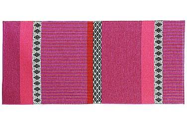 Savanne Plastiktæppe 70x150 Vendbar PVC Pink