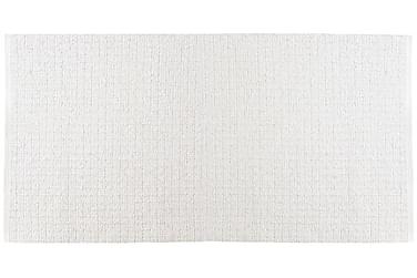 Uni tæppe Mix 150x180 PVC / bomuld / polyester hvid