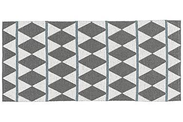 Zigge Plastiktæppe 70x300 Vendbar PVC grå