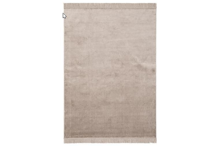 Rosarka Viskosetæppe 200x290 cm - Grå/Beige - Boligtilbehør - Tæpper - Ryatæpper