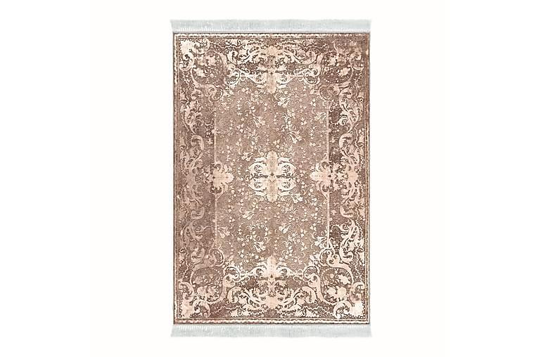 Alanur Home Tæppe 80x150 cm - Bleg lyserød/Cremehvid - Boligtilbehør - Tæpper - Små tæpper