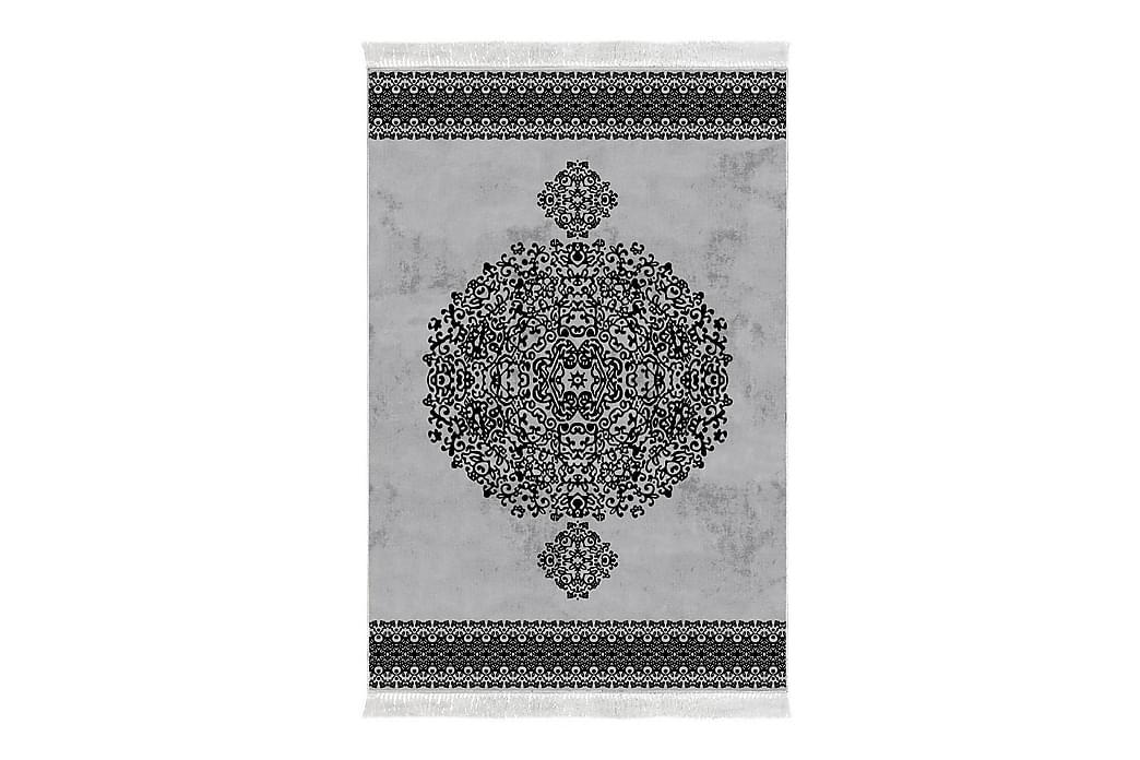 Alanur Home Tæppe 80x150 cm - Grå/Sort - Boligtilbehør - Tæpper - Små tæpper