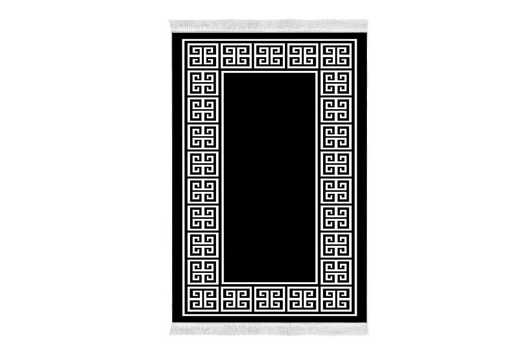 Alanur Home Tæppe 80x300 cm - Sort/Hvid - Boligtilbehør - Tæpper - Små tæpper