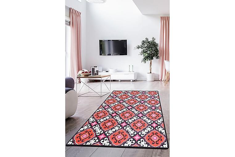 Deicola Tæppe 80x150 cm - Flerfarvet/Velour - Boligtilbehør - Tæpper - Små tæpper