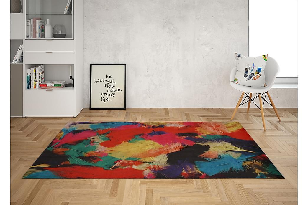 Gulhan Tæppe 80x120 cm - Flerfarvet - Boligtilbehør - Tæpper - Små tæpper