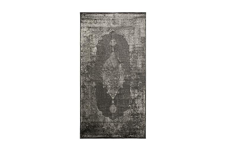 Venave Viskosetæppe 80x150 cm - Antracit - Boligtilbehør - Tæpper - Små tæpper