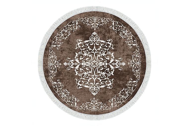 Alanur Home Tæppe 160x160 cm - Brun - Boligtilbehør - Tæpper - Store tæpper