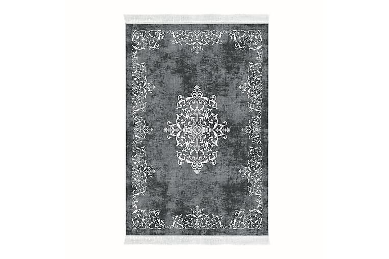 Alanur Home Tæppe 160x230 cm - Grå/Hvid - Boligtilbehør - Tæpper - Store tæpper