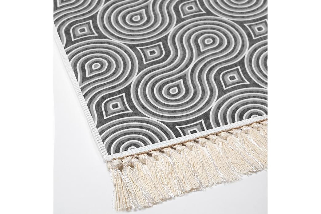 Alanur Home Tæppe 180x280 cm - Grå/Hvid - Boligtilbehør - Tæpper - Store tæpper