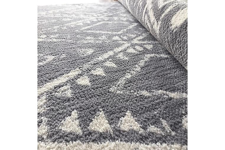 Irubhi Tæppe 160x400 cm - Grå/Hvid - Boligtilbehør - Tæpper - Store tæpper