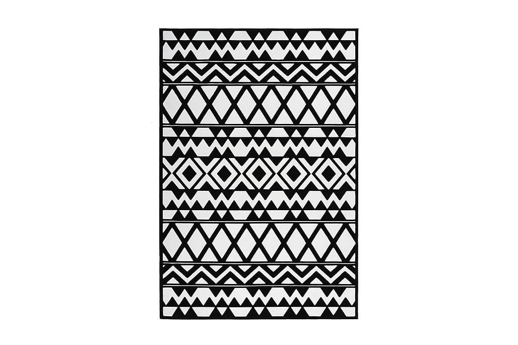 Jornes Det Tæppe 160x230 cm Sort/Hvid - D-Sign - Boligtilbehør - Tæpper - Store tæpper