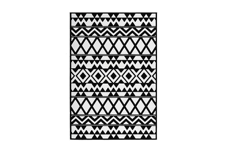 Jornes Det Tæppe 200x290 cm Sort/Hvid - D-Sign - Boligtilbehør - Tæpper - Store tæpper