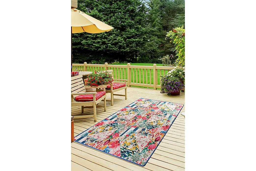 Sezgin Tæppe 160x230 cm - Lyserød/Velour - Boligtilbehør - Tæpper - Store tæpper