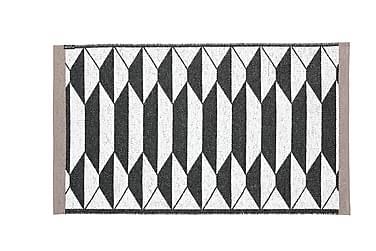 Floow b&w urd Plastiktæppe 150x210 Vendbar PVC