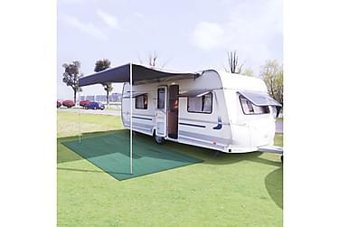Telttæppe 250 X 200 Cm Grøn