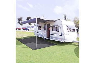 Telttæppe 250 X 300 Cm Antracitgrå