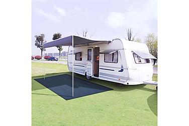 Telttæppe 300 X 400 Cm Blå