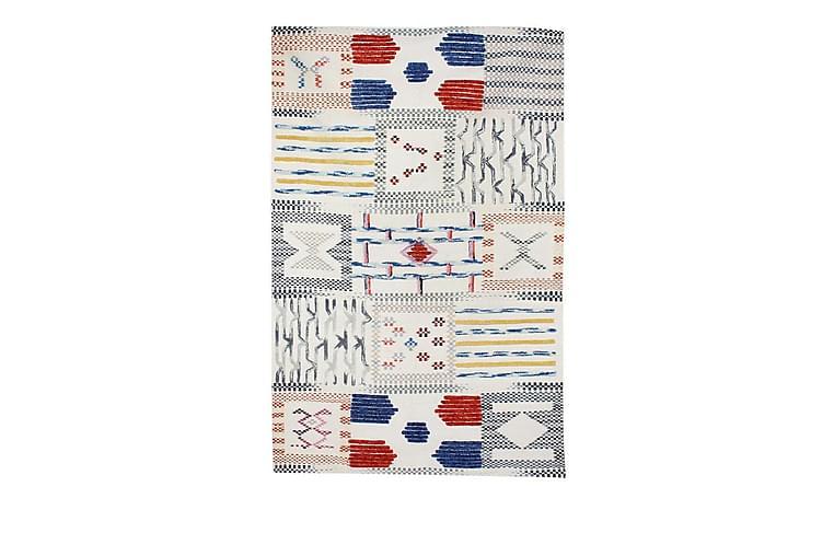 Fingle tæppe Cuyaky Elfenben 200x290 cm - Boligtilbehør - Tæpper - Uldtæppe