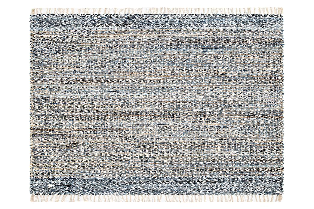 Tabare Uldtæppe 160x230 cm - Denim - Boligtilbehør - Tæpper - Uldtæppe