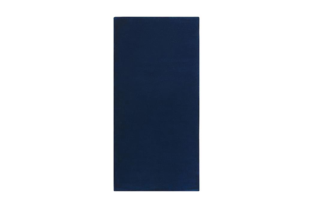 Brinckman Viskostæppe 80x150 cm - Marineblå - Boligtilbehør - Tæpper - Viskosetæpper & kunstsilketæpper