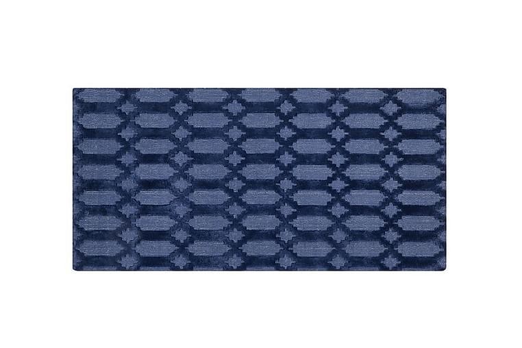 Bosnyak tæppe 80x150 cm - Blå - Boligtilbehør - Tæpper