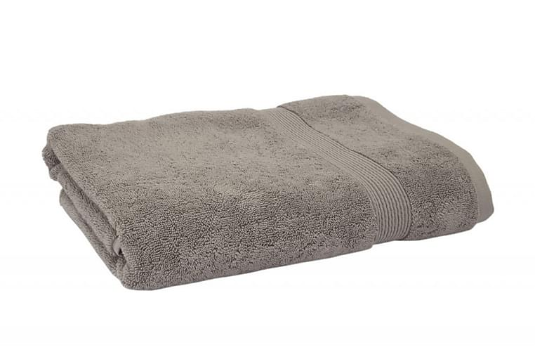 Chan Håndklæde 86x150 cm - Grå/Beige - Boligtilbehør - Tekstiler - Badeværelsestekstiler