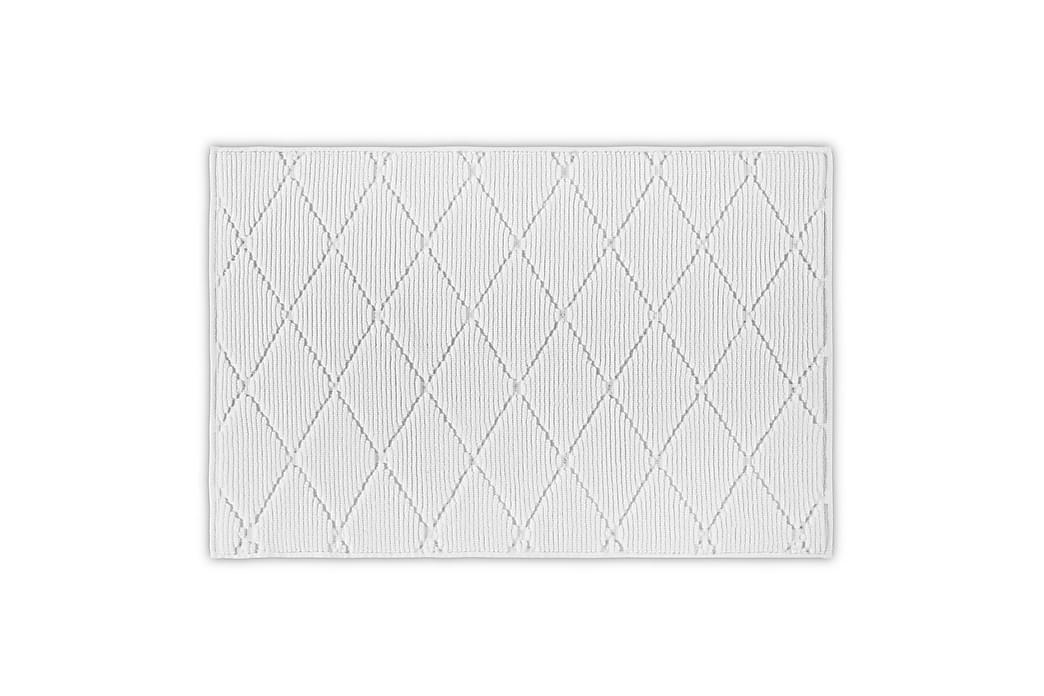 Morghyn Badeværelsesmåtte - Hvid - Boligtilbehør - Tekstiler - Badeværelsestekstiler