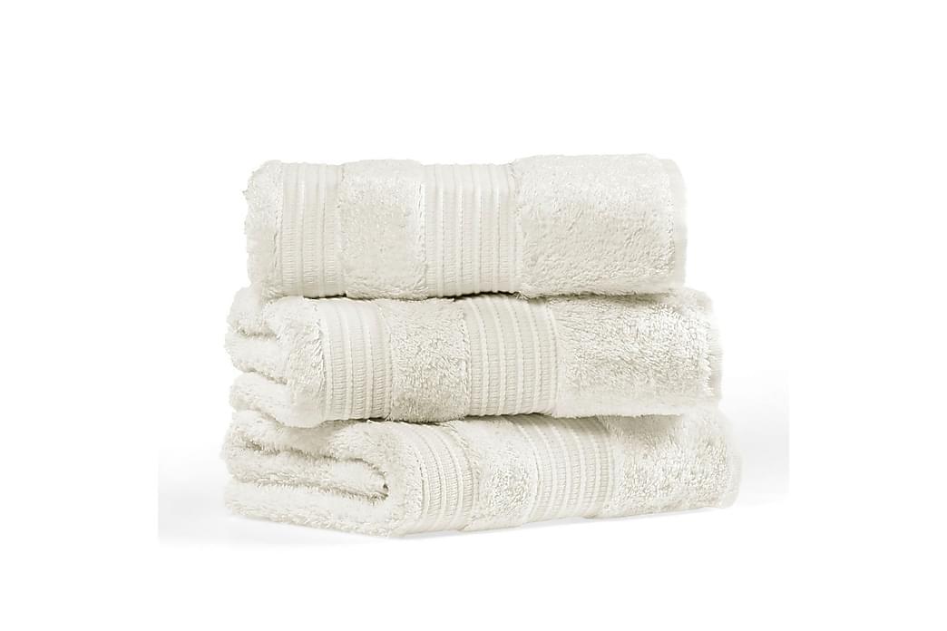 Morghyn Vaskeklud - Creme - Boligtilbehør - Tekstiler - Badeværelsestekstiler