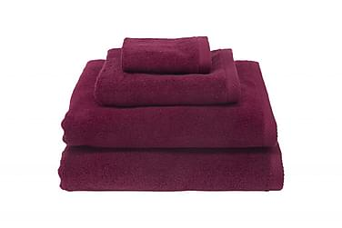 Zero Håndklæde 30x30 cm Vinrød