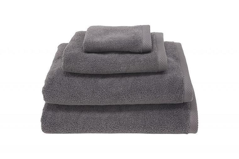 Zero Håndklæde 70x50 cm Askegrå - Turiform - Boligtilbehør - Tekstiler - Badeværelsestekstiler