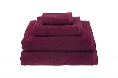 Zero Håndklæde 70x50 cm Vinrød