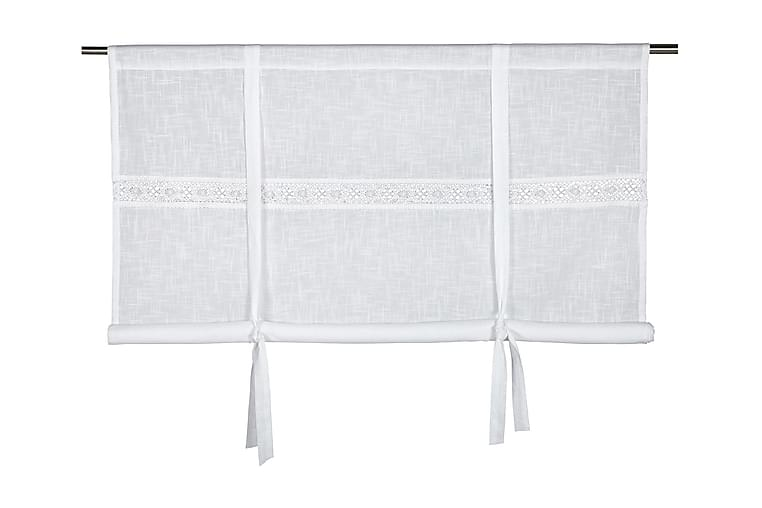 Capasin Foldegardin 180x120 cm - Hvid - Boligtilbehør - Tekstiler - Gardiner