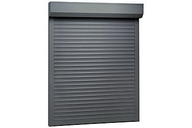 rulleskodder aluminium 120 x 150 cm antracitgrå