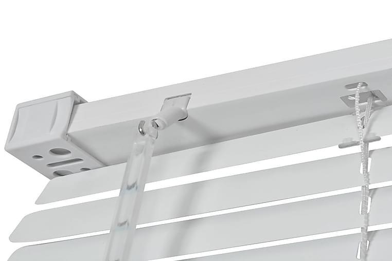 Persienne Aluminium 140 X 220 Cm Hvid - Hvid - Boligtilbehør - Tekstiler - Persienner