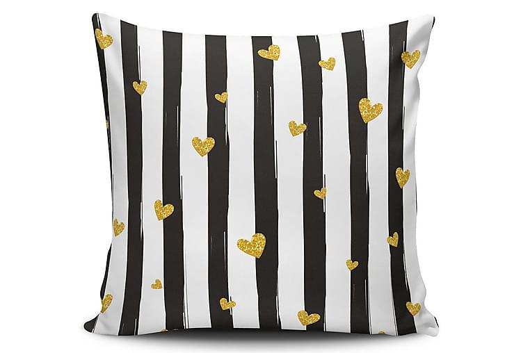 Cushion Love Pudebetræk 45x45 cm - Multifarvet - Boligtilbehør - Tekstiler - Pudebetræk