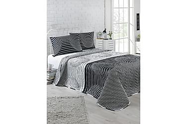 EnLora Home Sengetæppe Enkelt 160x220+Pudebetræk Quiltet
