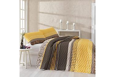 Eponj Home Sengetæppe Dobbelt 200x220 + 2 Pudebetræk quiltet