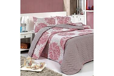 Eponj Home Sengetæppe Dobbelt 200x220+2 Pudebetræk Quiltet