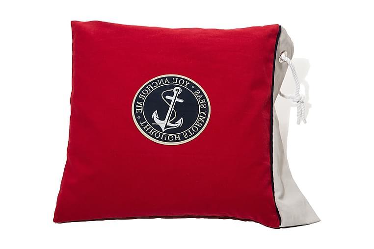 Lord Nelson Victory Pudebetræk - 50x60cm Rød - Boligtilbehør - Tekstiler - Pudebetræk