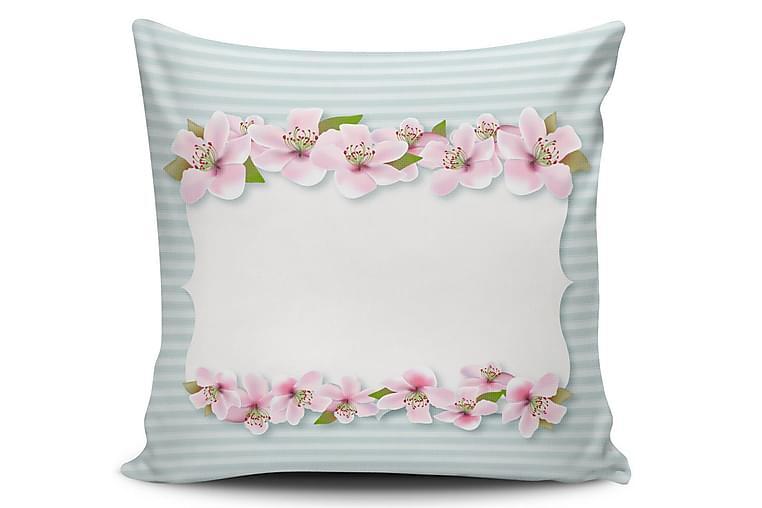Cushion Love Pude 45x45 cm - Multifarvet - Boligtilbehør - Tekstiler - Pyntepuder