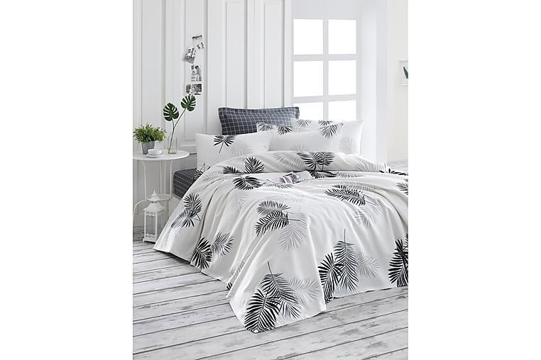 EnLora Home Sengetæppe - Grå - Boligtilbehør - Tekstiler - Sengetøj