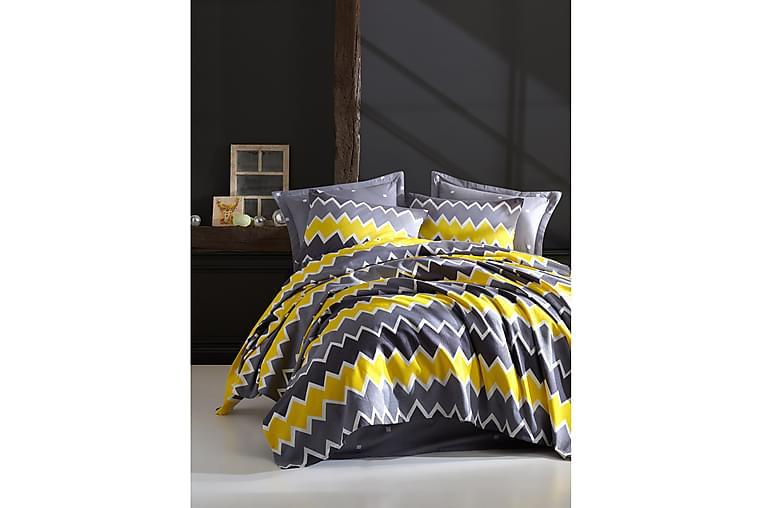 EnLora Home Sengetæppe - Gul - Boligtilbehør - Tekstiler - Sengetøj