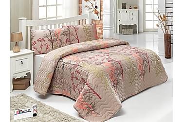 Eponj Home Sengetæppe Enkelt 160x220+Pudebetræk Quiltet