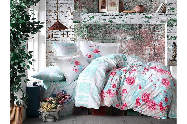 Hobby Poplin Sengesæt - Mintgrøn - Boligtilbehør - Tekstiler - Sengetøj
