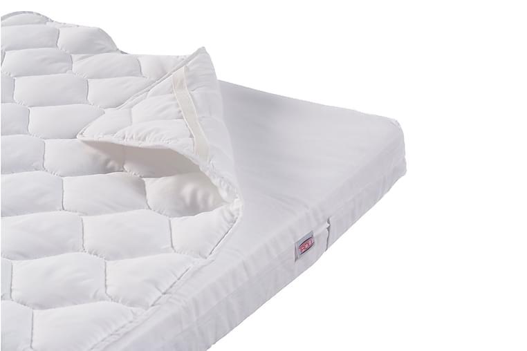 Madrassbeskytter 120x200 cm - Hvid - Boligtilbehør - Tekstiler - Sengetøj