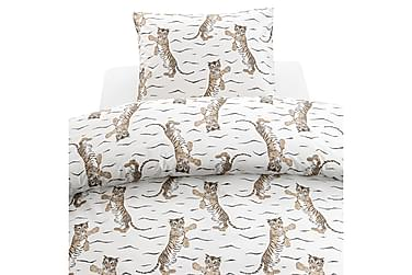Tiger Sengetøjssæt til Tremmeseng 2-dels 100x130 cm