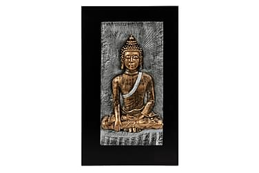 Billede Buddah Antikmessing